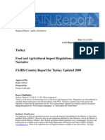 Food and Agricultural Import Regulations and Standards - Narrative_ankara_turkey_8!11!2009