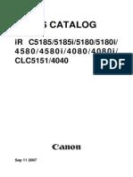 Irc 4580 Parts