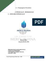 Modul 2 Dan 3 Penganggaran Perusahaan