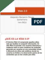 Presentación power piont  Alejandro Benjamín Reyes Santamaria