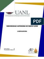 Estudios de Licenciatura UANL