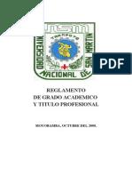 Reglamento Grado y Titulo (05!01!09)