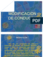 Taller de modificación de conducta