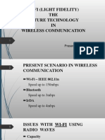 Presentation on Li-fi (Light Fidelity) The future technology in wireless communication