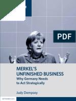 Merkel's Unfinished Business