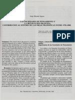 Las Sociedades de Pensamiento y La Revolucion Francesa. Contribucion Al Estudio de Las Ideas Filosoficas Entre 1750-1800