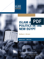 Islam and Politics in the New Egypt