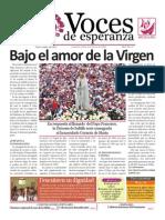 Voces de Esperanza 20 de octubre 2013