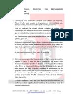 CASOS CLIìNICOS RESUELTOS CON RESTAURACIÓN BIOENERGÉTICA