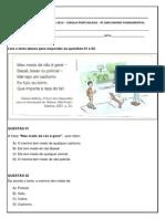 AVALIAÇÃO+DIAGNÓSTICA+2013+–+LÍNGUA+PORTUGUESA+-+4º+ANO