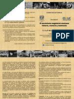 Convocatoria Al Coloquio El Movimiento Magisterial Mexicano. Historia Memoria y Testimonio