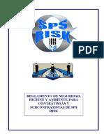 Reglamento de Higiene y Seguridad Laboral Para Contratistas y Subcontratistas de Sps Risk c.a.