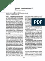 V1 Sforza, Paradox of the Evolution of Communication