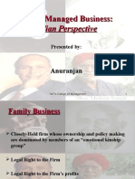 Indian Family Managed Business; History,Advantages,Evolution,Challenges