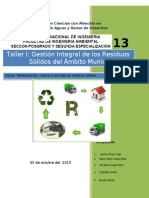 Gestion Integral Arbitrios Taller Rm