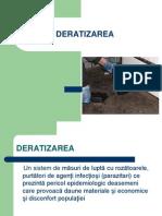 Prezentarea Deratizarea