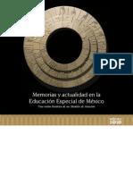 Historia de la Educación Especial en Mexico