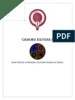 Grimoire Esoterica Vol 1