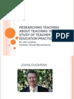 teaching about teaching