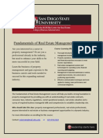 Fundamentals of Real Estate Management
