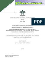 DISEÑO MANUAL DE FUNCIONES CON ORGANIGRAMA