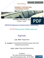 SDVO & Vets in Government Contracting