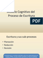 Modelo Cognitivo Del Proceso de Escritura.ppt