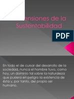 Dimensiones de La Sustentabilidad (Social y Natural)