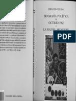 Biografia política de Octavio Paz - Vizcaino