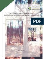 Aclareos y podas silvícolas en bosques naturales y plantaciones forestales. Mas Porras, J. 2009