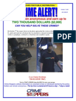 DPD Crime Alert - Robbery of at-Risk-Adult