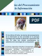 1. Teorias de Procesamiento de La Informacion