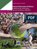 Sistema de Cuentas Nacionales de México; Cuenta satélite de las instituciones sin fines de lucro en México - INEGI
