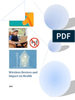 Thesis on Wireless With Health