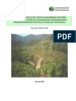 El Sistema Silvícola de Cortas a Matarrasa (SISCOMA). Mas Porras, Javier. 2009