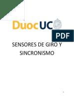 Sensores de Giro y Sincronismo