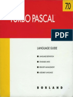 Turbo Pascal Version 7.0 Language Guide 1992
