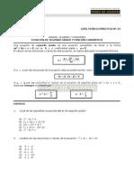 Algebra y Funciones, Ecuacion de Segundo Grado y Cuadratica
