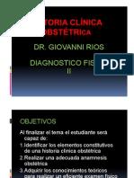 Historia Obstetrica
