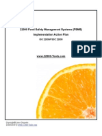 22000 FSMS Action Plan