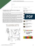 YARURGATE_ CUESTIÓN DE FORMAS _ Artishock