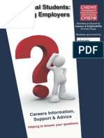 International Students Identifying Employers by ARW July12