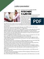 Mannar Bishop Plays Peacemaker