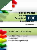 Taller Manejo Clinico Del Flgo en Evaluacion