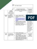lesson plan for week of october 21-29 2013 mullen grade 8