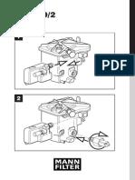 Fuel Filter (MANN) Installation Manual