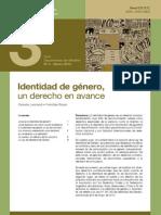 ADC - Doc de Difusion N 3 - Identidad de Genero