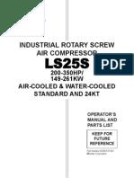 Manual de Operacion y Mantenimiento Compresor Sullair Ls25 s