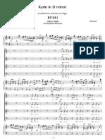 KV.341 Mozart Kyrie Eleison
