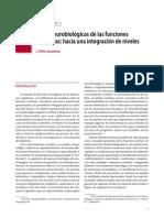 Bases neurobiológicas de las funciones